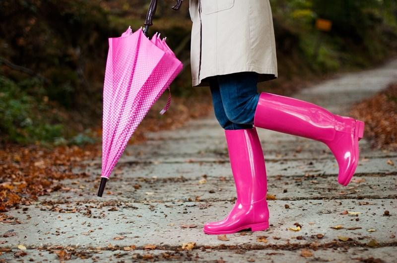 Les bottes en caoutchouc reviennent à la mode