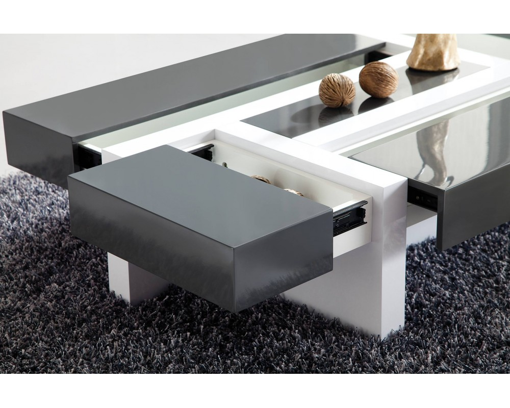 Model etable salon moderne - Table basse pas cher blanche ...
