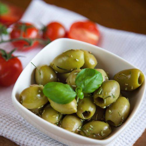 Comment preparer des olives vertes ?