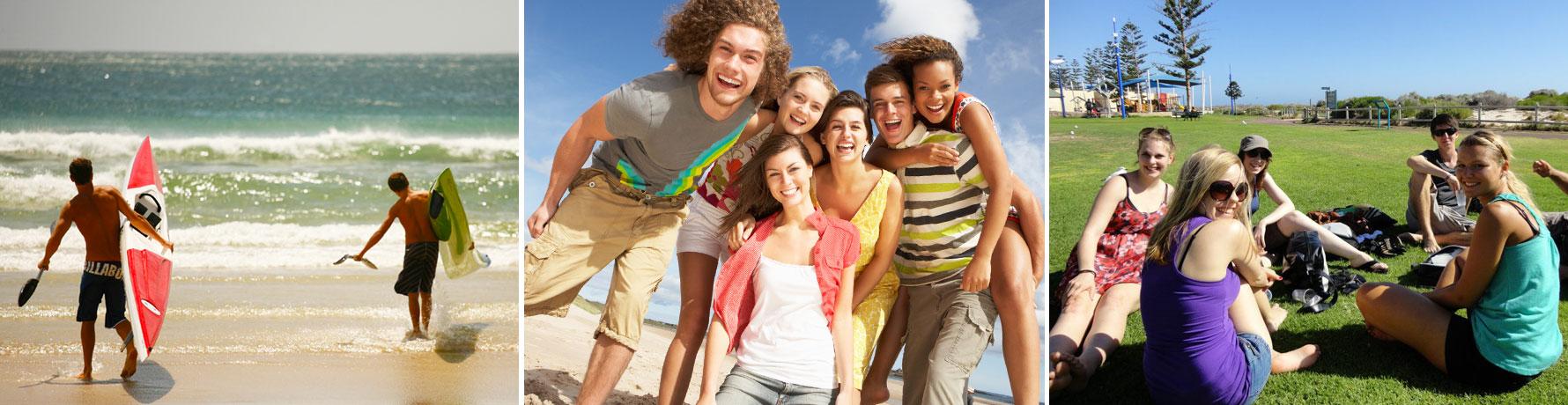 Séjour linguistique adulte : choix disponible