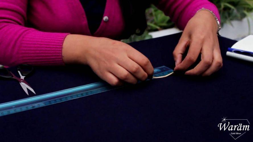 Comment mesurer son tour de doigt sans baguier ?